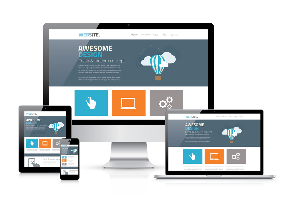 Website Design & Development with Responsive Design