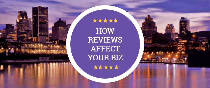 How Reviews Affect Your Business