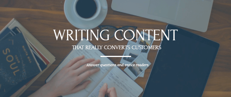 Writing content that really converts to paying customers