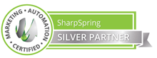 SharpSpring Silver Partner marketing automation certified