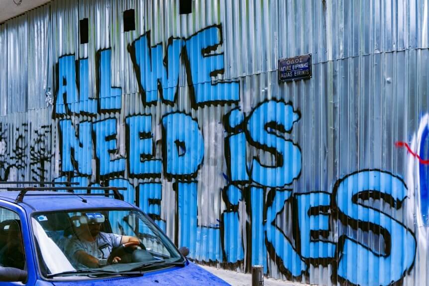 social media more likes